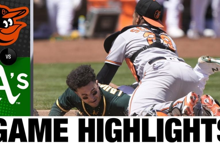 Orioles vs. A's Game Highlights (5/02/21) | MLB Highlights