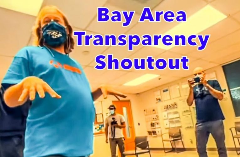 Teenager Knows His Rights! Bay Area Transparency Shoutout