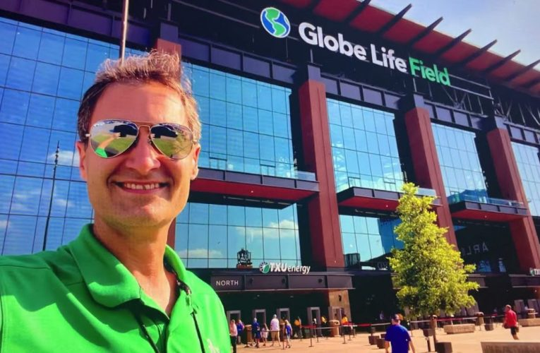 Dave Kaval Oakland A's President Shows Us Globe Life Field In Arlington, Texas