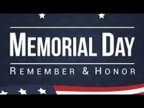 Memorial Day Tribute To All The Men And Women Who Served in Our Armed Forces By Joseph Armendariz