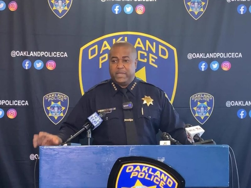 Oakland Police Chief News Conference On Response To 2020 George Floyd Protests