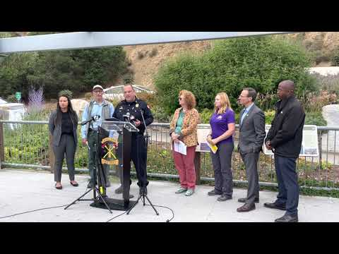 Oakland Wildfires: Councilmembers Thao, Kalb, Taylor With Fire Department Staff