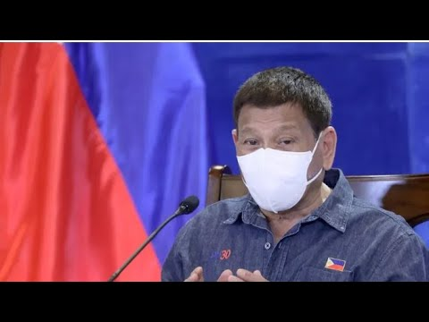Philippines President Threatens To Lock People For Not Getting Covid Vaccine- By Eric Pangilinan