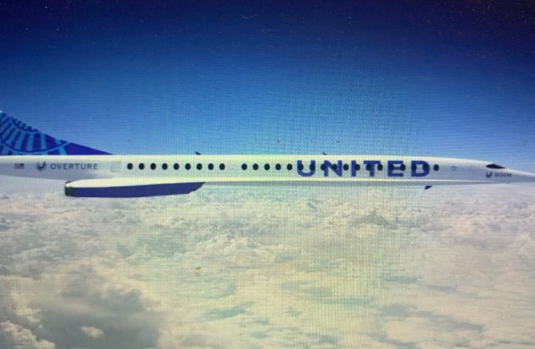 United Supersonic: United Airlines Presents Supersonic Air Travel In Deal With Boom