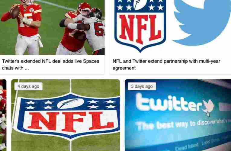 NFL And Twitter Partnership Now Focuses On Twitter Spaces