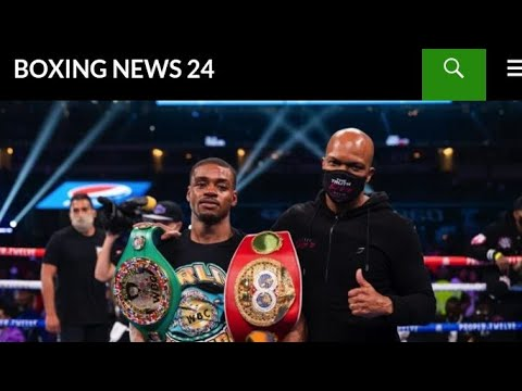 Boxing Andre Ward Says Spence Has To Prove