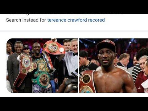 Boxing Terence Crawford Next Fight Will Be Against Who?- By Eric Pangilinan