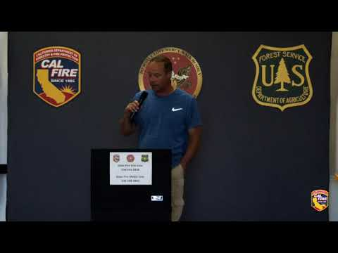 California Wildfire: Dixie Fire update from Cal Fire, July 18, 2021 | Raw