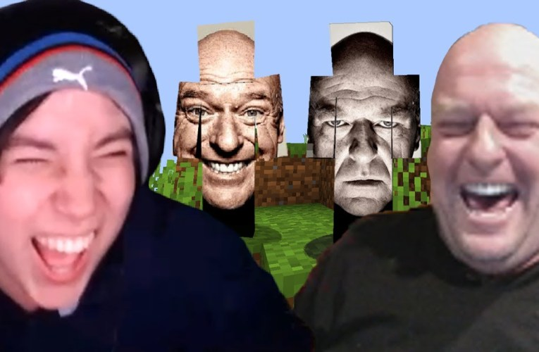 I Played Minecraft With Hank From Breaking Bad