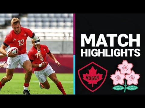 JapanVs Canada | Rugby 7s | Olympics 2021 Highlights