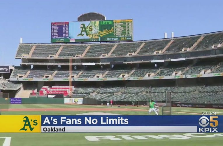Oakland Coliseum Opens To Full Capacity With No COVID Restrictions