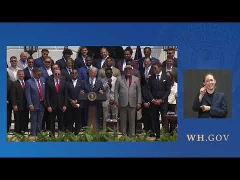 Remarks by President Biden Honoring The Super Bowl LV Champions, The Tampa Bay Buccaneers