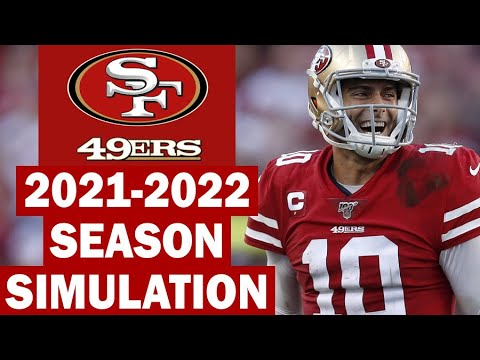 San Francisco 49ers 2021-2022 Season Simulation (Madden with Updated Rosters)