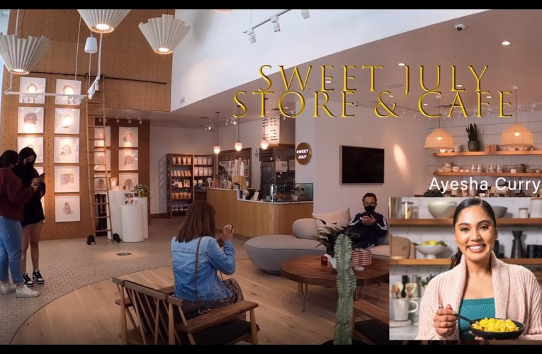 Sweet July Store & Cafe Owned By Ayesha Curry In Downtown Oakland, CA.