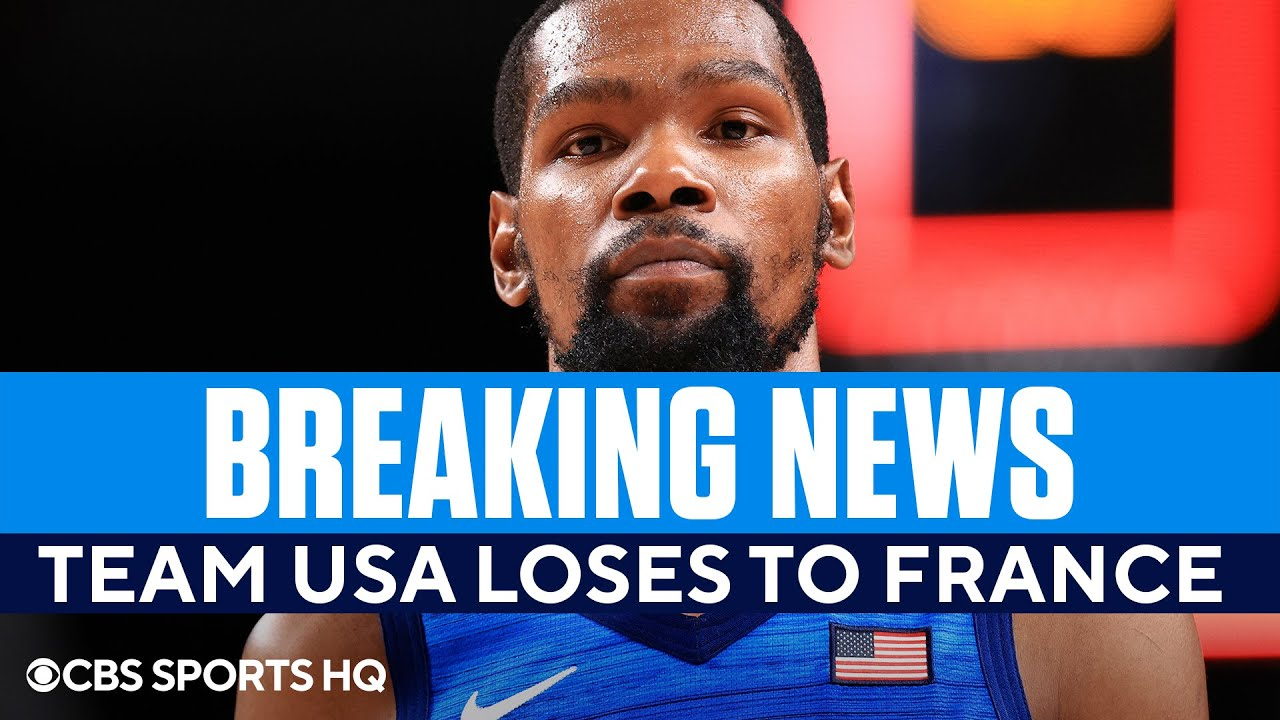 Team USA Men's Basketball Suffers Stunning Loss to France in the Olympics | CBS Sports HQ - Blog