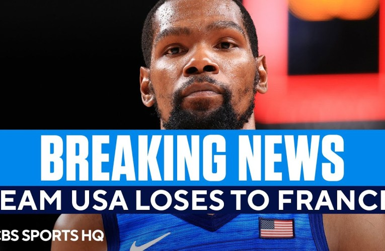 Team USA Men's Basketball Suffers Stunning Loss to France in the Olympics | CBS Sports HQ