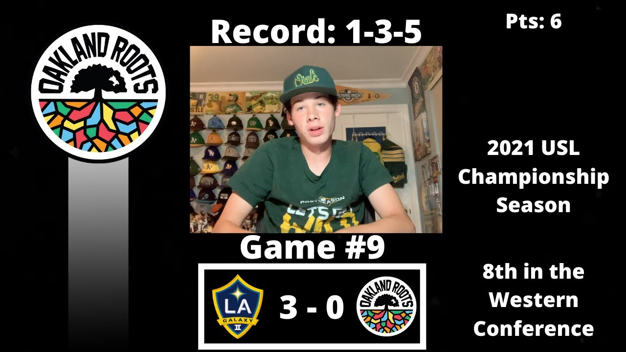 The Oakland Roots Continue to Struggle, and Get Shutout to the LA Galaxy II - Blog
