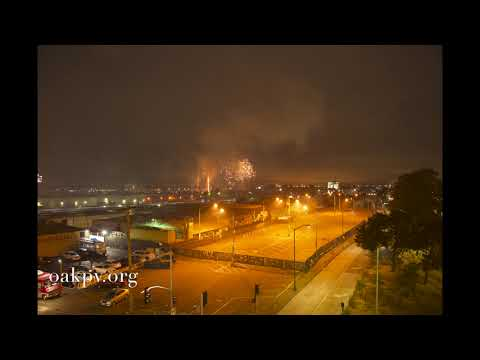 The Time Lapse Of Oakland: 4th Of July 2021