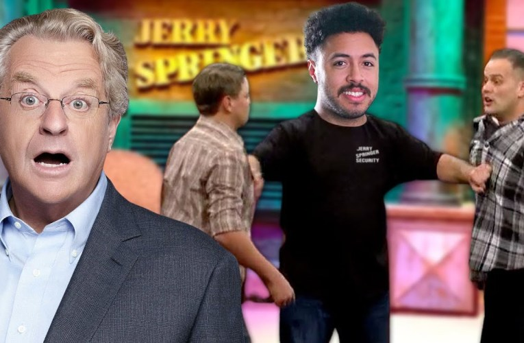 The Worst Talk Show Host Is Still On The Air (Jerry Springer)