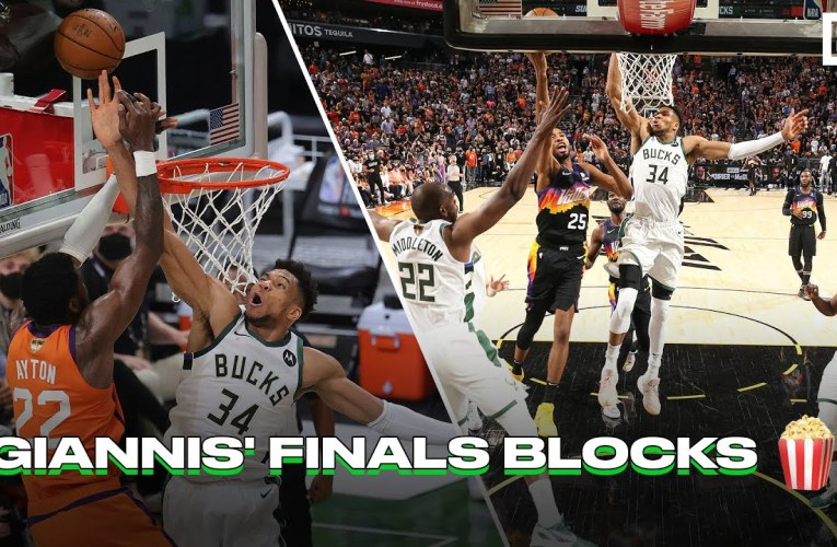 Which Giannis Antetokounmpo Finals Block vs. Suns Was Better?