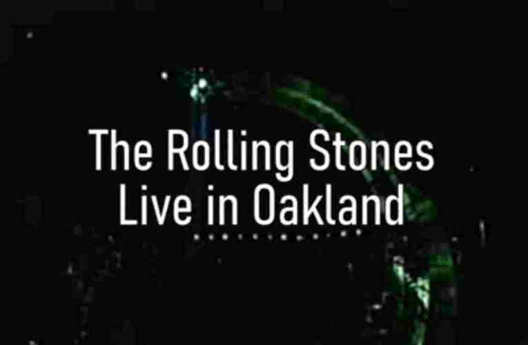 The Rolling Stones Live In Oakland, October 31 1994 Video Of Concert Zennie Abraham Attended