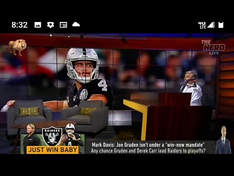 Las Vegas Raiders Colin Cowherd Says This Is A Prove It Year For Jon Gruden By Eric Pangilinan