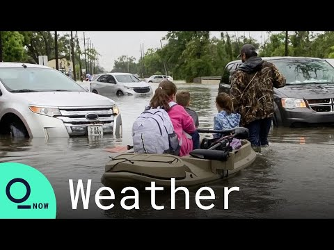 Louisiana Crews Search for Residents Trapped by Hurricane Ida Floods