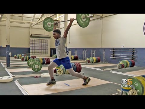 Oakland Teen Weightlifter Credits Coach And Non Profit Gym Program