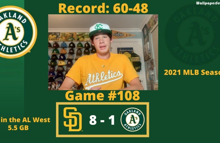 The Oakland A's Fail to Produce Runs, Manaea Struggles, and the Padres Defeat Them Soundly