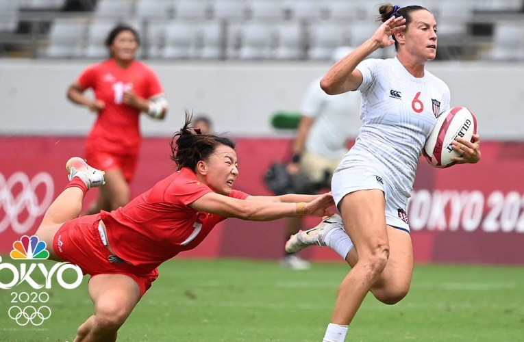 United States eases past China to begin pursuit of rugby gold | Tokyo Olympics | NBC Sports