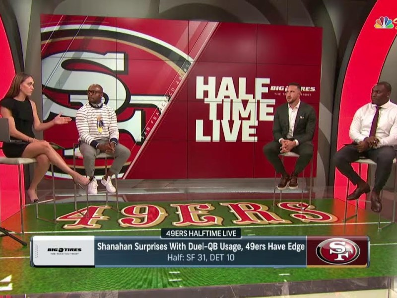 49ers Halftime Live – NBC Bay Area Review Of NFL Game 1 For San Francisco 49ers