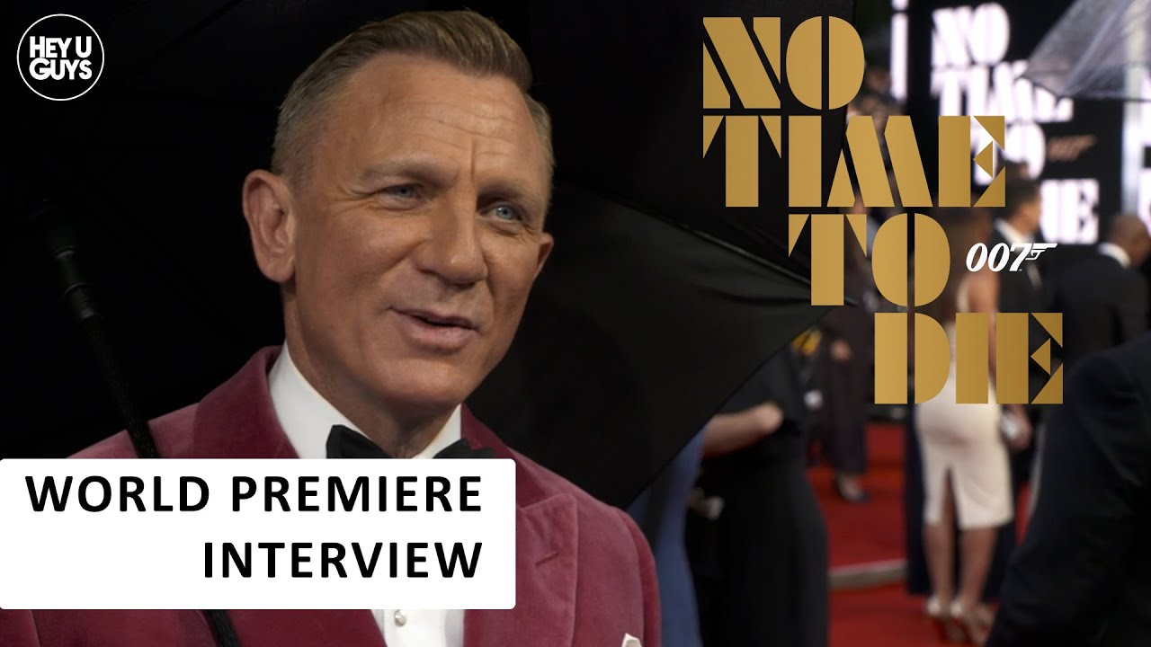 Daniel Craig on his last turn as James Bond 007 at the No Time to Die Premiere - Blog