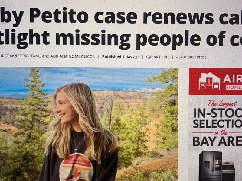 Frank Somerville Suspended Update: KTVU's Amber Eikel Posts Gabby Petito AP Racism Article But Why?
