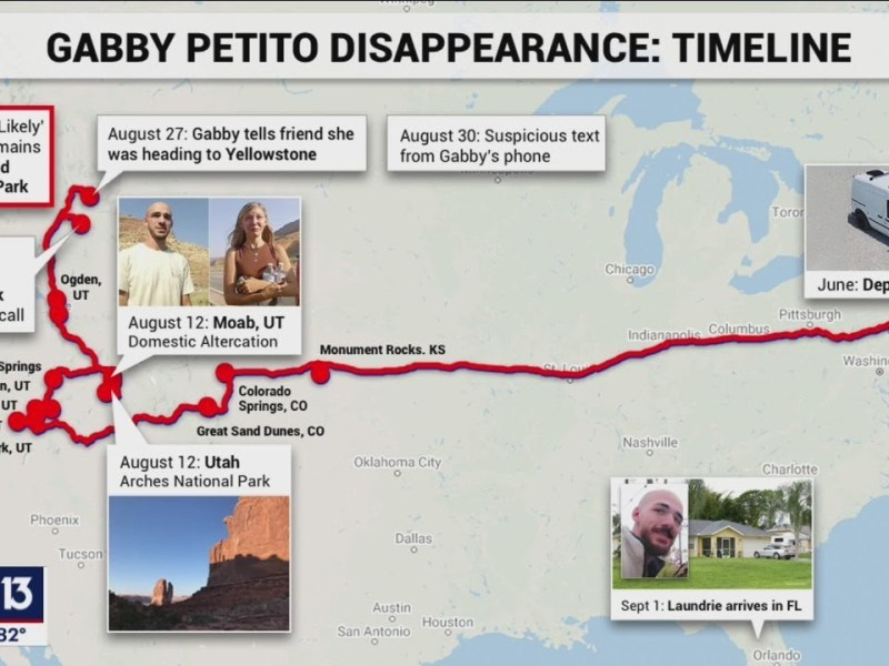 Gabby Petito Dead, Brian Laundrie Missing – How The New 911 Calls Fit Into The Timeline