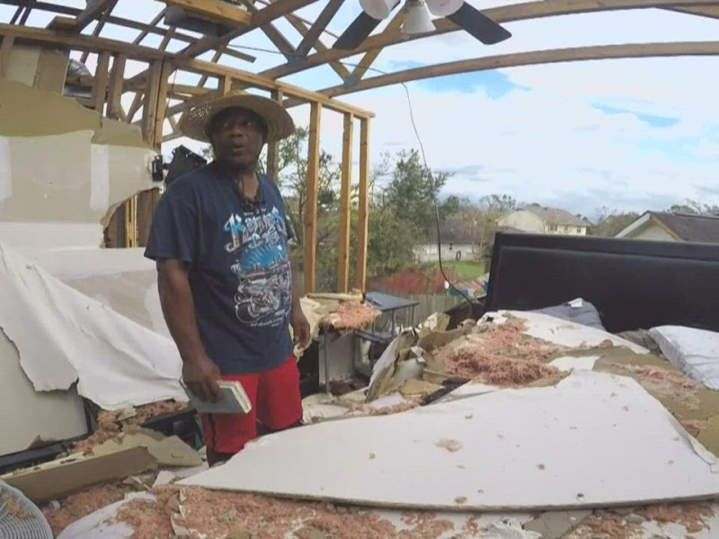 'I don't know how much more I can take': Louisiana native recalls the day Hurricane Ida damaged home