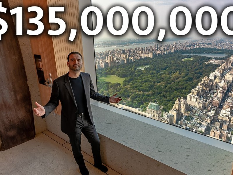 Inside a Japanese Inspired $135,000,000 NYC Apartment With Central Park Views