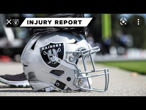 Las Vegas Raiders Final Injury Report Richie Incognito Out For Monday Night Game By Eric Pangilinan