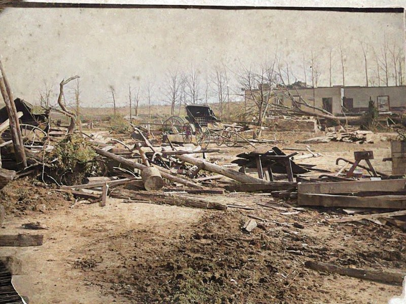 Stories from the Tragic Cyclone, Jan 5, 1892 in Fayetteville, GA and a Gone With The Wind Connection