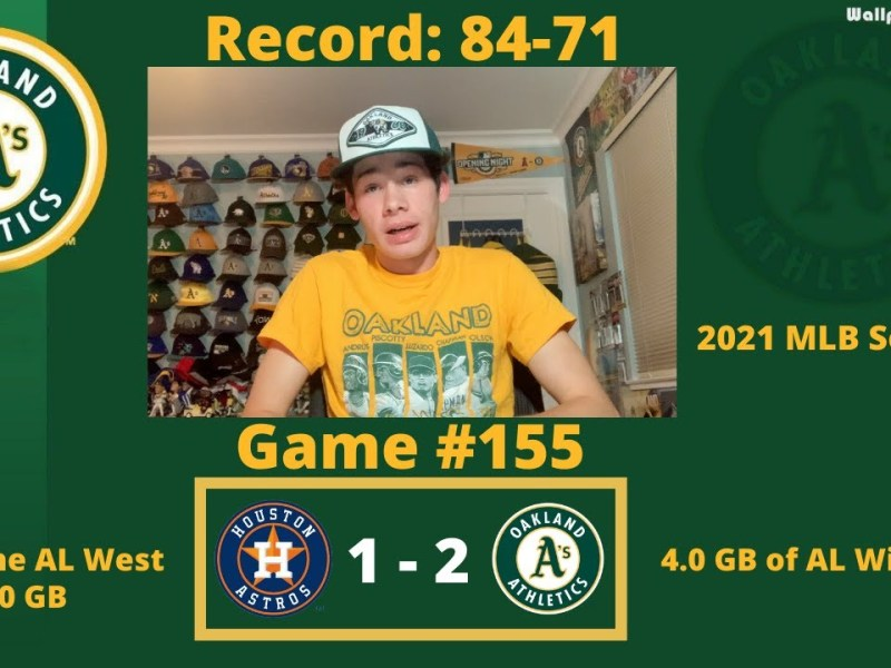 The A's Defeat Houston as Marte Walks it Off, and Oakland's Pitching Gets the Job Done