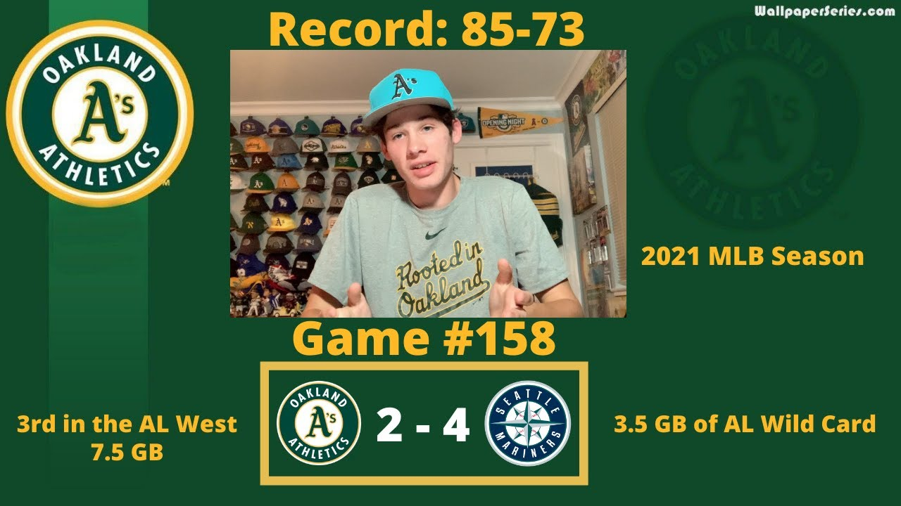 The A's Lose to the Mariners as Oakland Simply Cannot Find a Rhythm as the Season Winds Down - Blog