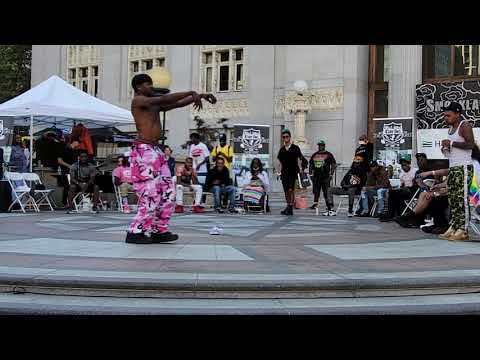 Final Dance Battle with Turf Inc At Oakland City Hall Downtown September 5th 2021
