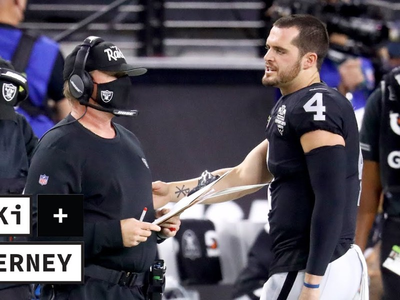 The Raiders Are LETHAL With Derek Carr and Jon Gruden in Sync | Tiki and Tierney