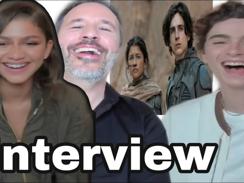 Timothée Chalamet on epic Dune film & why ZENDAYA wants to learn French before Part Two! INTERVIEW