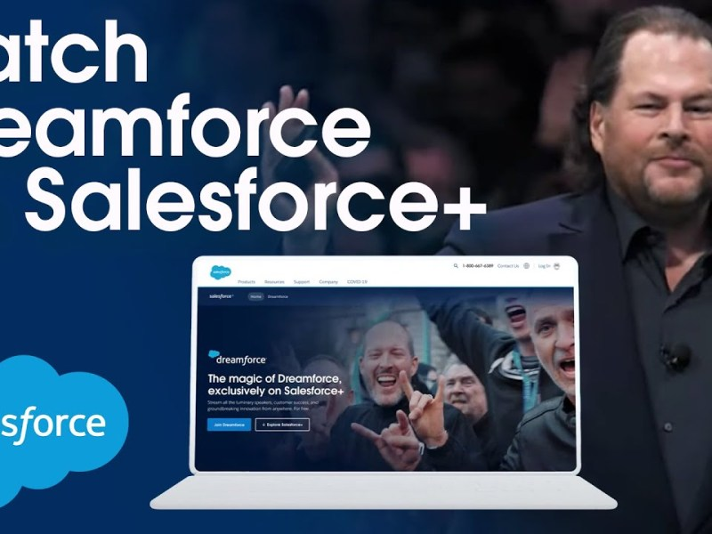 Watch Dreamforce on Salesforce+ | Sign Up for Free TODAY!