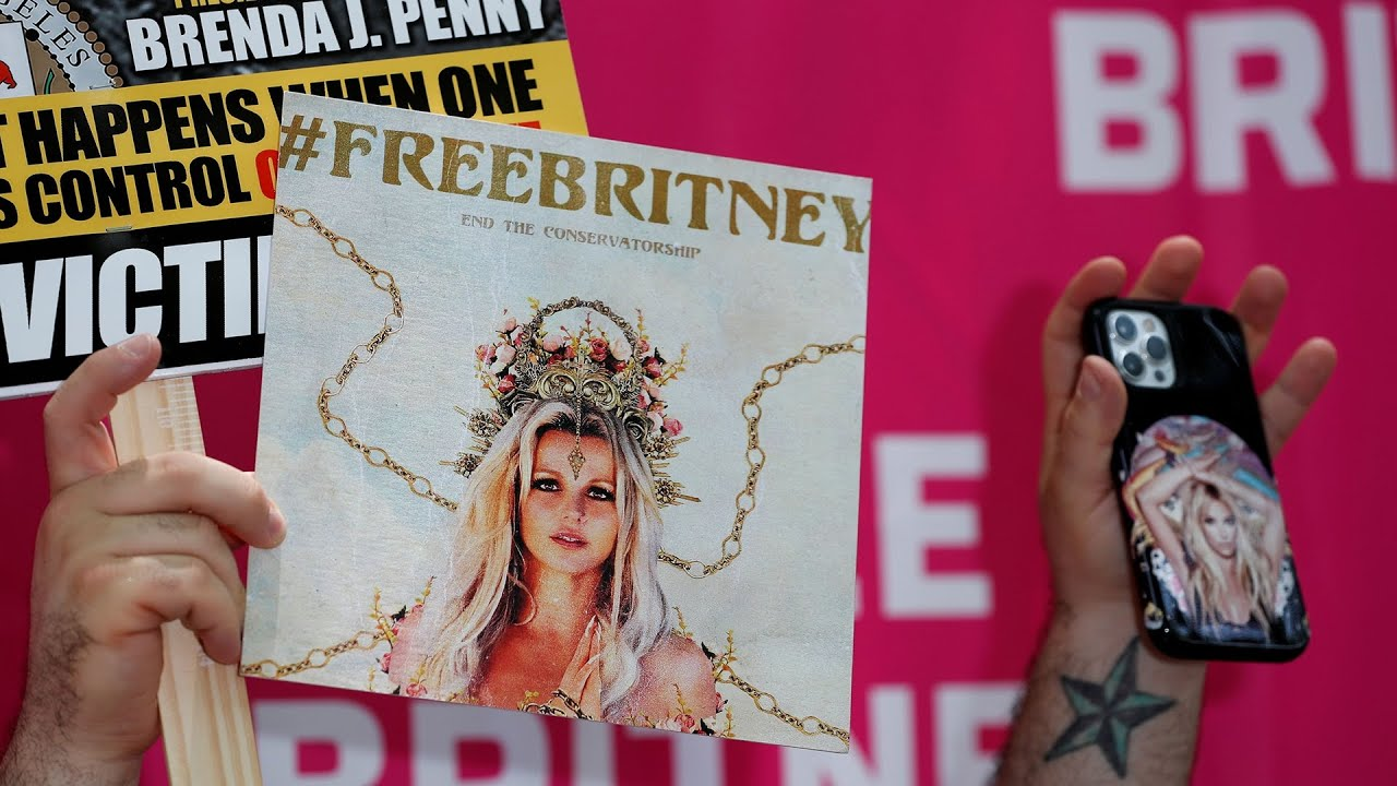 WATCH: People gather outside Britney Spears conservatorship hearing in Los Angeles - Blog
