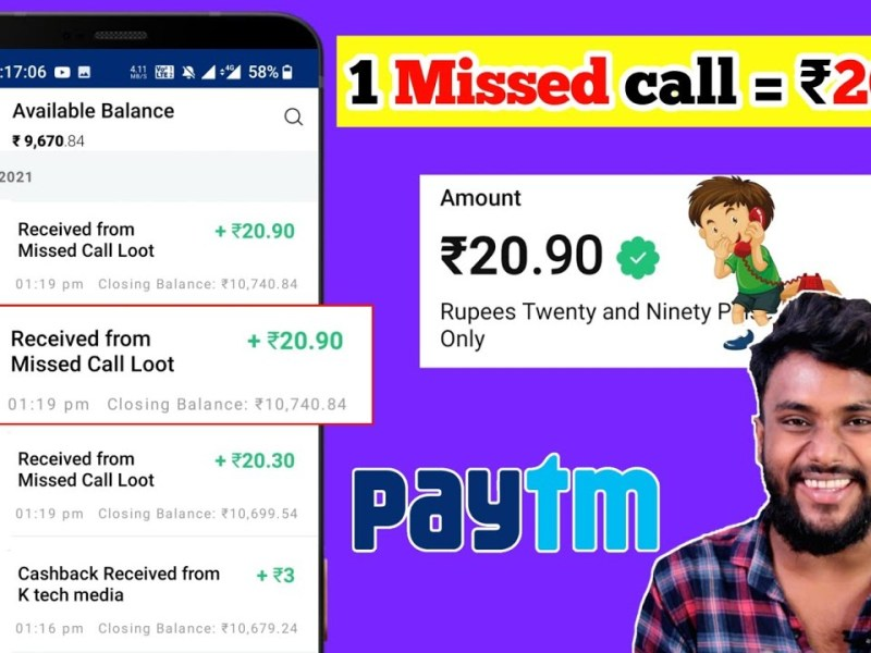 1 Call ₹20 🔴LIVE | New Earning Apps 2021 | Free Paytm Cash Daily Earn ₹2000| Best Earning App