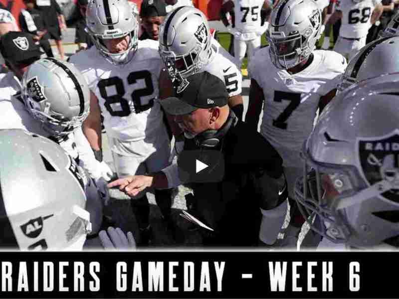 The Silver and Black Respond With Impressive Win in Denver | Raiders Gameday | NFL