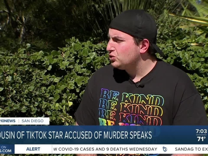 Accused TikTok star's cousin shares his thoughts