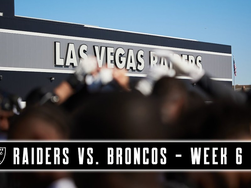 All of Our Goals Are Ahead of Us | Raiders vs. Broncos | Week 6 | Trailer | NFL
