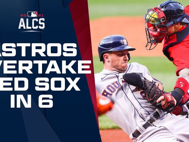 Astros take down Red Sox in 6 games to return to World Series!   ALCS Game Highlights